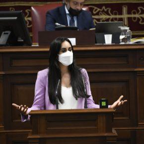 Vidina Espino reclama más herramientas para luchar contra la violencia de género e ir más allá del discurso del todos y todas