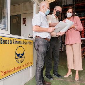 Vidina Espino advierte que la ayuda de 50.000 euros del Gobierno canario a los bancos de alimentos no da ni para la leche de un mes