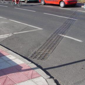 El Cabildo mejora el drenaje y reduce ruidos en la carretera entre Las Rosas y Las Galletas