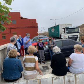 Lidia Cáceres (Cs) exige al tripartito la instalación de aceras en el barrio de Las Perreras