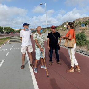 Lidia Cáceres (Cs) urge al tripartito a finalizar el proyecto del Corredor Verde de Tamaraceite