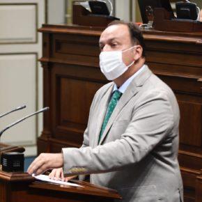 Fernández de la Puente (Cs) pregunta por la construcción del Palacio de Congresos de Lanzarote